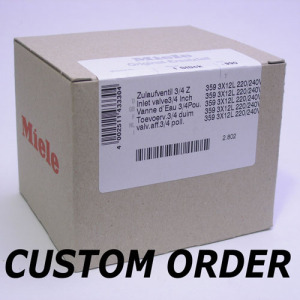 Miele  Spare Parts Special Customer Orders
